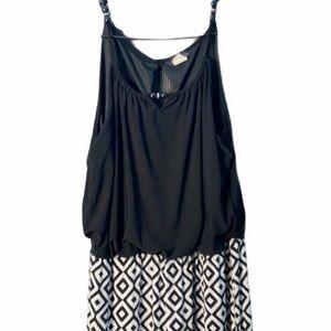 Cocomo Diamond Print Jumpsuit, size L